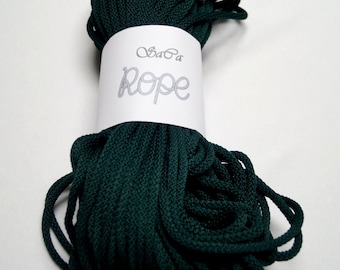 Rope/Rope Knitting/ Polyester Rope/Rope Crochet/ Chunky Rope/ Colored Rope/ Cord