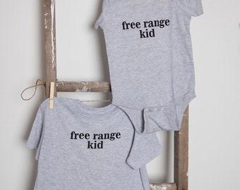 Free Range Kid T-shirt