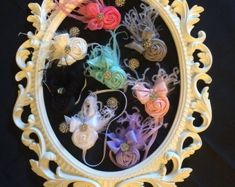 Rosette Headband, Rosette Clippy, Rosettes