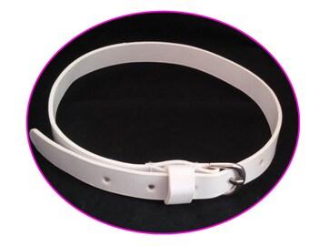 Belt for 18 inch doll - white