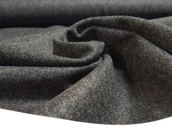 Onyx Black Wool