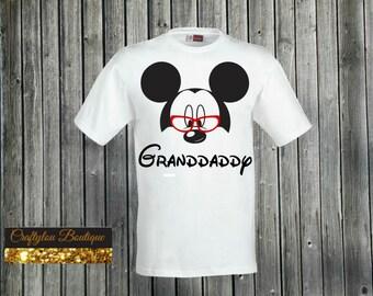 Granddaddy Disney Mickey Shirt