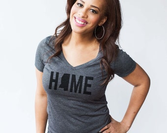 T-Shirt - Mississippi HOME Women's Tee