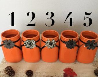 Halloween mason jars (clearance sale )