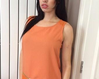 Katie Vest - Orange
