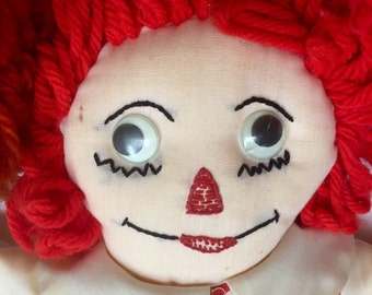Vintage Raggedy Andy Handmade