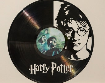 Harry Potter Record Wall Art