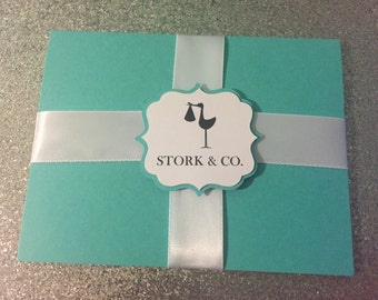 Stork & Co. Baby Shower invitation