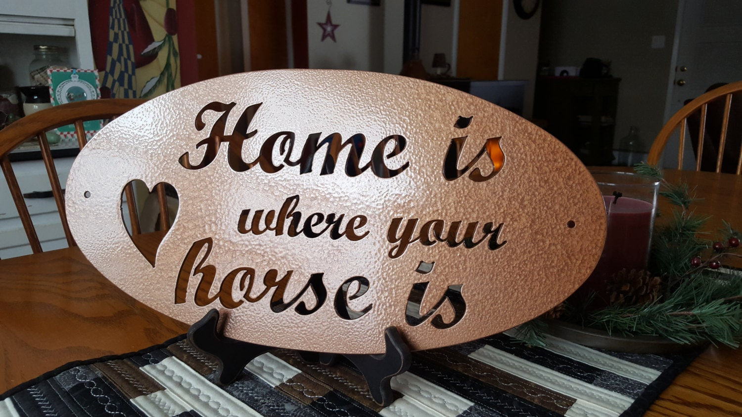 Metal Cut Sign,Horse Lover Gifts,Home Decor,Wall Decor