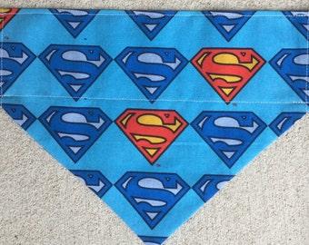 Superman Pet Bandana Pet Scarf