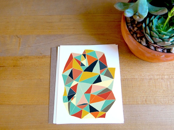 Geometric Card Set