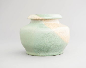 Lidded Jar, light green