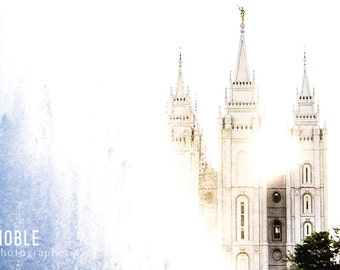 LDS Salt Lake City Temple: Fine Art Photography Print/Wrapped Canvas