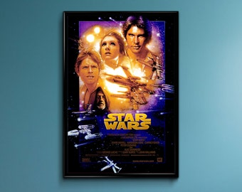 Star Wars Episode IV Vintage Poster Print | TIARP13828