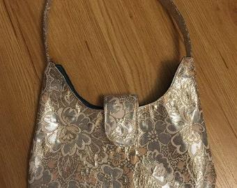 Larger brocade handbag