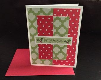 """Christmas Card : """"Merry Christmas"""""""