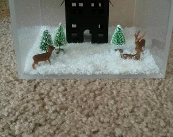 Winter Cube Decoration
