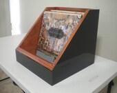 2 - 12'' vinyl record storage displays