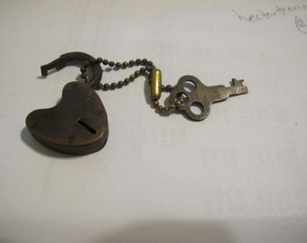 Antique Lock and Key