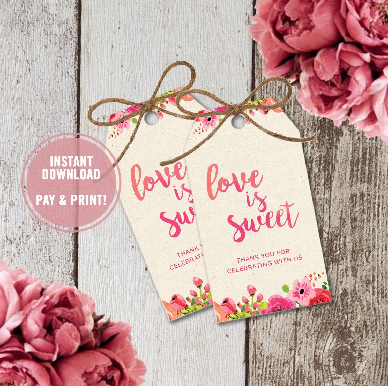 free printable bridal shower favor tags - 28 images - 4 best images ...