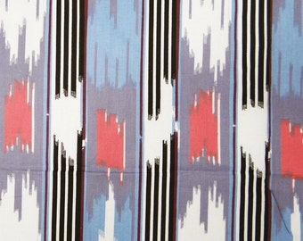 """White Pure Cotton Stripe Print, Sewing Crafts Fabric, Dress Fabric, Indian Decor, 42"""" Inch Cotton Fabric  By The Yard ZBC1102"""