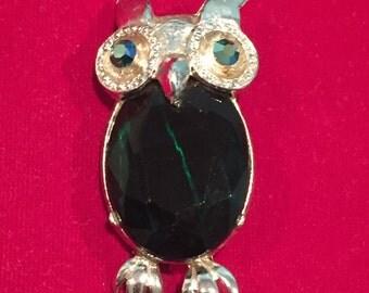 Owl Pin  - CA 1980's
