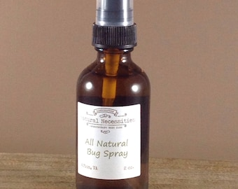 All Natural Bug Spray, Insect Repellant