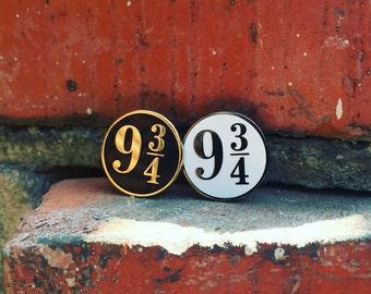 Nine and Three-Quarters - Hard  Enamel Pin