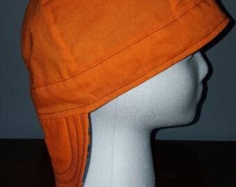 "Welding Cap *Pick Your Colors* Small 23"" Reversible Handmade 100% Cotton"