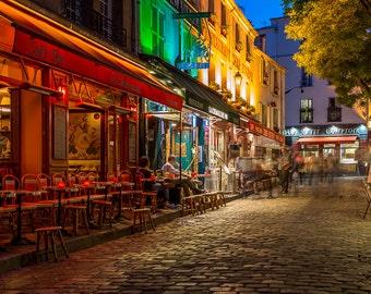 Paris France MontMartre Art Photography Print Wall Decor