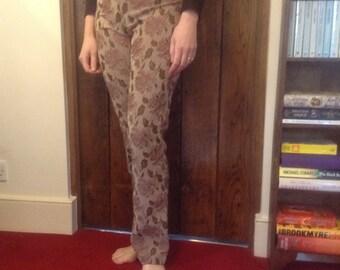 Karen Millen patterned trousers from 1990's size UK 12