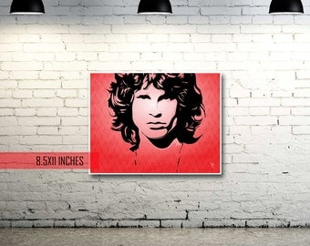 Jim Morrison | The Doors | Pop Art