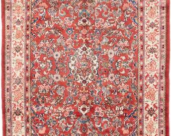 "Vintage Mahal Persian Rug, 6'10"" x 10'3"""