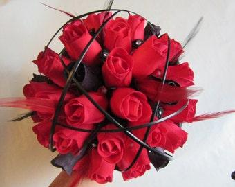 Black grass bouquet