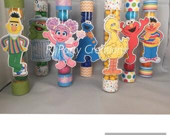 12 Sesame Street Candy favor tubes