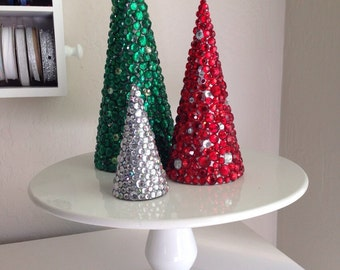 Custom Rhinestone Tree-o