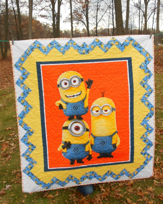 1 In A Minion Children S Quilt Handmade