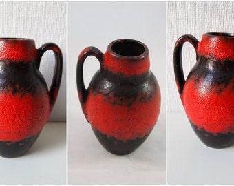 Scheurich vase, Model 414-16, West Germany vase, Vintage, Mid century