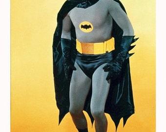 Batman Adam West Color 8x10 Photograph