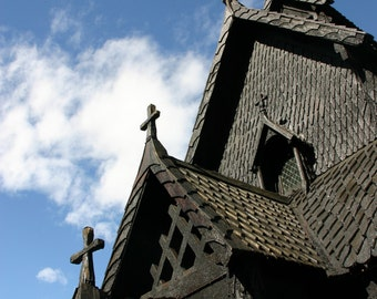 Travel Photography, Fine Art Photography, Norway, Stave Church