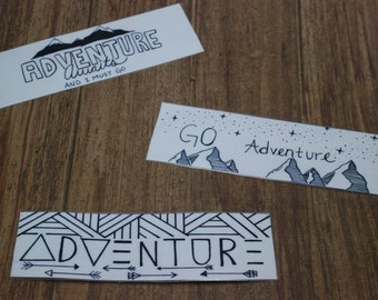 Adventure Bookmarks