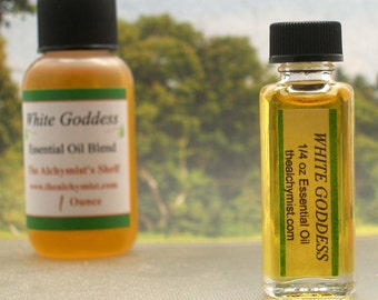 White Goddess Essential Oil Wiccan Craft Pagan Altar Ritual Spell