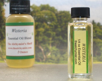 Wisteria Essential Oil Wiccan Craft Pagan Altar Ritual Spell Special