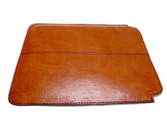 Genuine Leather case/sleeve for iPad Air in Tan
