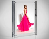 Acrylic Perspex Magnetic Photo Frame  Premium acrylic  Made in the UK