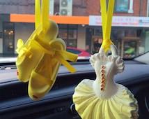 Ballerina dress &  shoes set ,car freshener, Room perfume, scented ornament , home fragrance