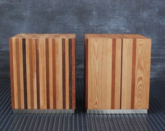 Bedside / Bedside table / Coffee Table in Solid Wood / Contemporary nightstand / Designer furniture / Modern coffee table / Side table wood