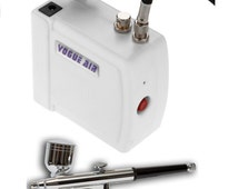 Airbrush & Compressor Kit Ideal For Crafts Arts Hobbies And Model Airbrushing (Air Brush)