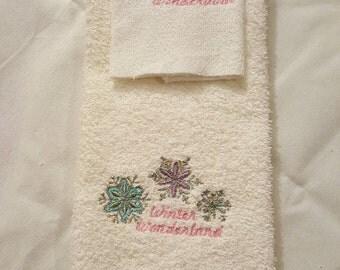 Frost Winter Wonderland Towels