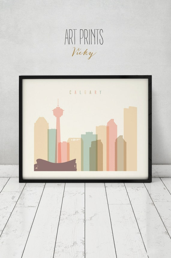 Https Etsy Com Listing 268369342 Calgary Print Poster Wall Art Calgary Ref Shop Home Active 16